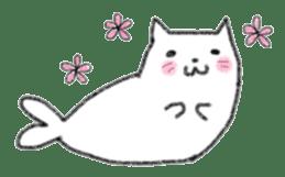 Cat Seal Sticker sticker #1098050