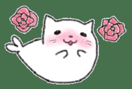 Cat Seal Sticker sticker #1098056