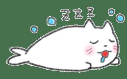 Cat Seal Sticker sticker #1098057