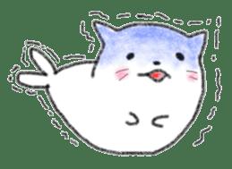Cat Seal Sticker sticker #1098060