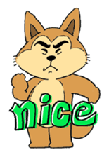 akita ken sticker #1098203