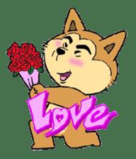 akita ken sticker #1098211