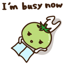 Tomato child English version sticker #1098956