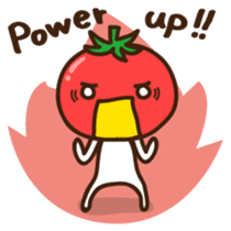 Tomato child English version sticker #1098962