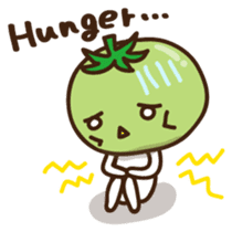 Tomato child English version sticker #1098978