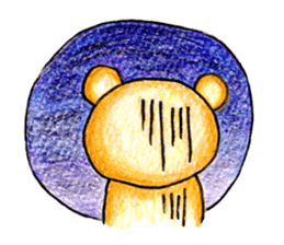 Mr.bear sticker #1099281