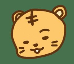"""""""chibi""""tiger sticker sticker #1099826"""