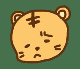 """""""chibi""""tiger sticker sticker #1099827"""