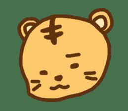 """""""chibi""""tiger sticker sticker #1099828"""