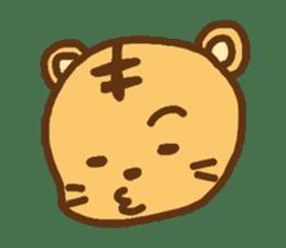 """""""chibi""""tiger sticker sticker #1099829"""