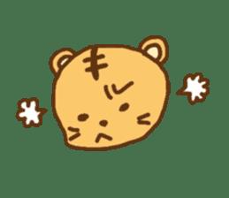 """""""chibi""""tiger sticker sticker #1099831"""