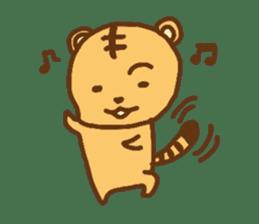 """""""chibi""""tiger sticker sticker #1099834"""