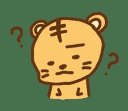 """""""chibi""""tiger sticker sticker #1099846"""