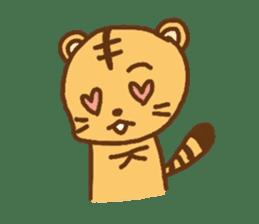 """""""chibi""""tiger sticker sticker #1099852"""