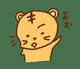 """""""chibi""""tiger sticker sticker #1099857"""