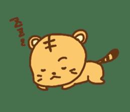 """""""chibi""""tiger sticker sticker #1099858"""