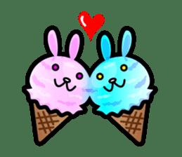 Rabbit Icecream sticker #1100248