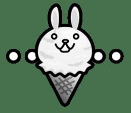 Rabbit Icecream sticker #1100257