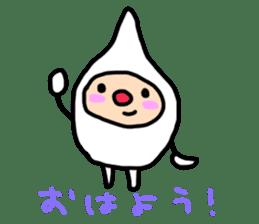 shirocororo-chan sticker #1101426