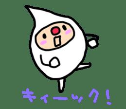 shirocororo-chan sticker #1101433