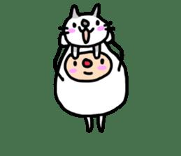 shirocororo-chan sticker #1101442