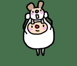 shirocororo-chan sticker #1101443