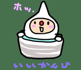 shirocororo-chan sticker #1101445