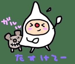 shirocororo-chan sticker #1101449