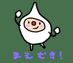 shirocororo-chan sticker #1101452