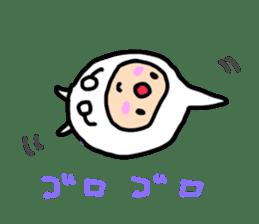 shirocororo-chan sticker #1101461