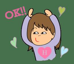 Hitomi senpai sticker #1101567