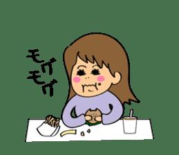 Hitomi senpai sticker #1101569