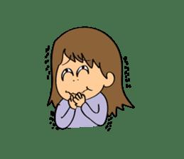 Hitomi senpai sticker #1101581