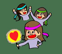 Hitomi senpai sticker #1101583