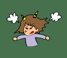 Hitomi senpai sticker #1101585