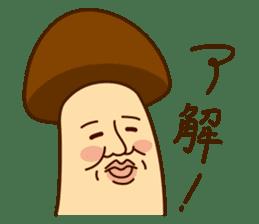 Mr.mushroom ! sticker #1101832