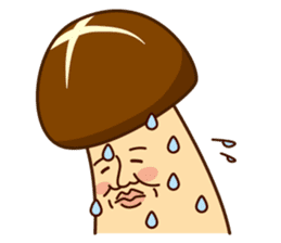 Mr.mushroom ! sticker #1101839