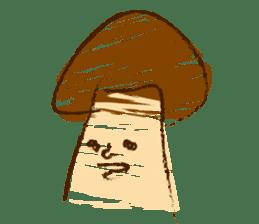 Mr.mushroom ! sticker #1101849