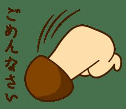 Mr.mushroom ! sticker #1101854