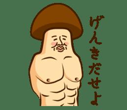 Mr.mushroom ! sticker #1101860