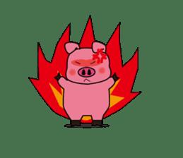 Sticker of the pig sticker #1102960
