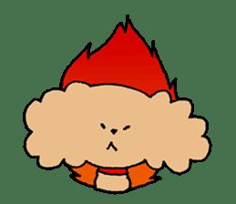 Toy poodle sticker #1103561