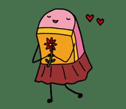 Kamaboko-chan sticker #1105238