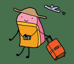Kamaboko-chan sticker #1105257