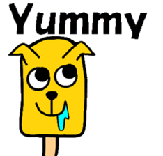 Icecream-dog sticker #1105961