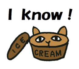 Icecream-dog sticker #1105973