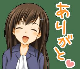 Yui Chan sticker #1106026