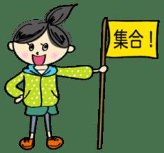 running girl sticker #1106162