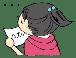 running girl sticker #1106167
