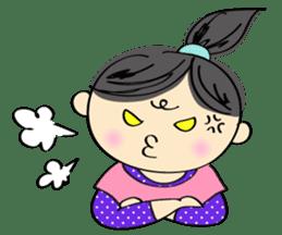 running girl sticker #1106169